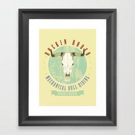 cowgirls wanted Framed Art Print