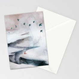 Snow Day II Stationery Cards