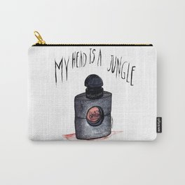 My head is a jungle Carry-All Pouch
