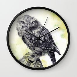 Athena Green Wall Clock