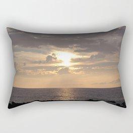 A Sunset Rectangular Pillow