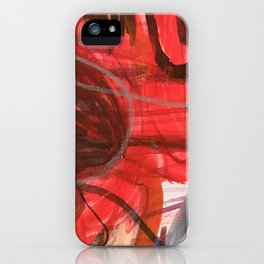 Breathe in stereo iPhone Case