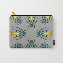 Yellow Agate Beetle Carry-All Pouch