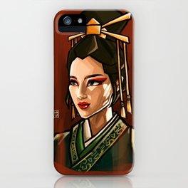 Suki Kyoshi Warrior Avatar the Last Airbender iPhone Case