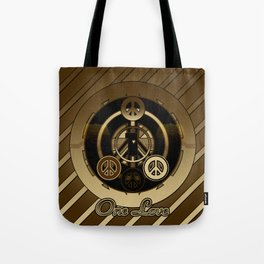 One Love (Brown) Tote Bag