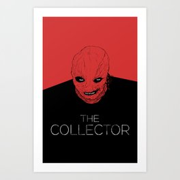 The Collector Art Print