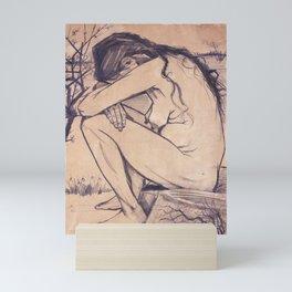 Sorrow by Vincent van Gogh, 1882 Mini Art Print