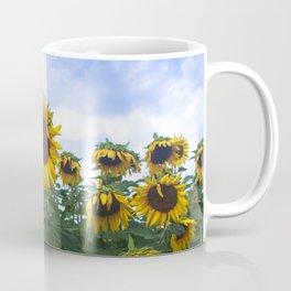 Nodding Sunflowers Coffee Mug