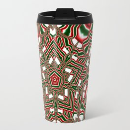 Christmas Kaleidoscope Travel Mug
