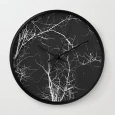 Branches and Sky Wall Clock