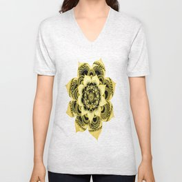 cool mandala Unisex V-Neck