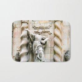 Statue of Jesuit Saint Francis Borgi Bath Mat