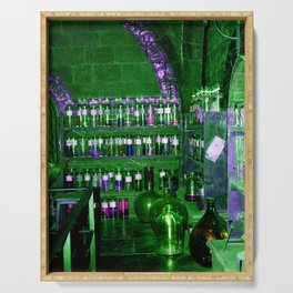 Potion Class - Green and Purple Hues Serving Tray