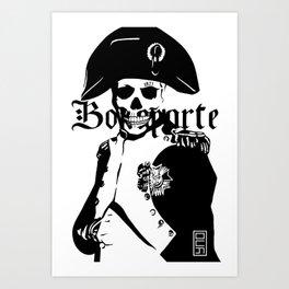Bones of Bonaparte Art Print