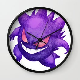 Gengar Wall Clock