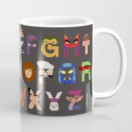 TMNT ABCs Coffee Mug