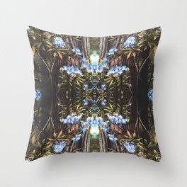 Vintage Forest Rhode Throw Pillow