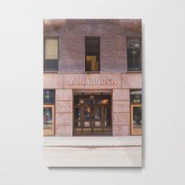 Monadnock Chicago Metal Print