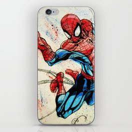 Web-Slinger Spider-Man iPhone Skin