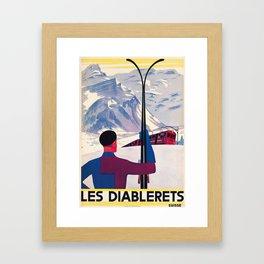 Les Diablerets Framed Art Print