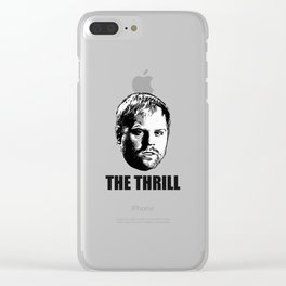 Phil  The Thrill  Kessel Clear iPhone Case