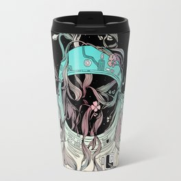 Life is Invading My Space Travel Mug