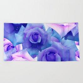 Bouquet de fleur Beach Towel