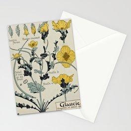 Maurice Pillard Verneuil - Étude de la plante (1903): Yellow Hornpoppy Stationery Cards