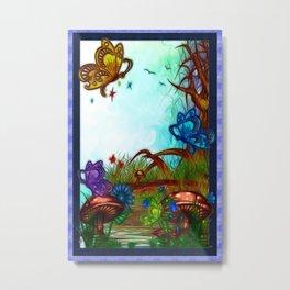 Bonnie Lake Fantasy Art Metal Print