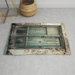 Old Green Door Rug