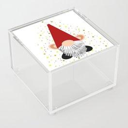 Santa - Gnome Acrylic Box