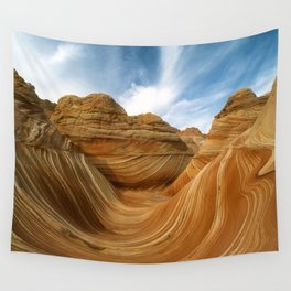 The Wave-Paria Wilderness Wall Tapestry