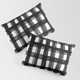 Black cage Pillow Sham