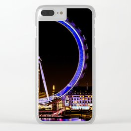 The Eye of London Clear iPhone Case