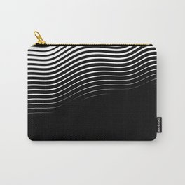 Rising Wave BnW Carry-All Pouch