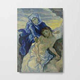 Pietà (after Delacroix) Metal Print