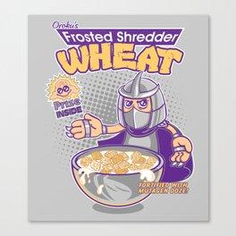 Shredder Wheat Canvas Print