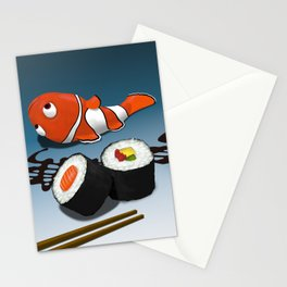 Asian Food Stationery Cards