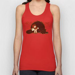 Bossy Red Riding Hood Unisex Tank Top