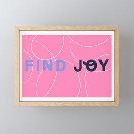 Find Joy Framed Mini Art Print
