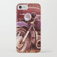moto iPhone & iPod Cases featuring Vintage Moto by Eduard Leasa Photography