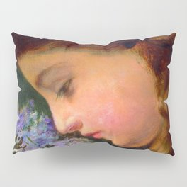 """Sophie Gengembre Anderson """"Girl With Lilac"""" Pillow Sham"""
