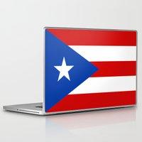 puerto rico Laptop & iPad Skins featuring Puerto Rico by McGrathDesigns