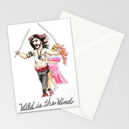 Wild is the Wind Stationery Cards