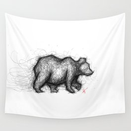 The Bear Necessities Wall Tapestry