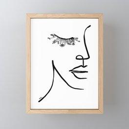Nature eyes Framed Mini Art Print