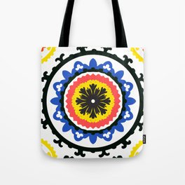 Bold and bright beauty of suzani patterns ver.9 Tote Bag