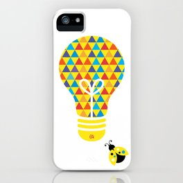 The Cheer Leader: Bright Idea Art Series  iPhone Case