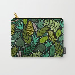 Green Scatter Carry-All Pouch