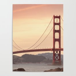 Golden Gate Bridge (San Francisco, CA) Poster